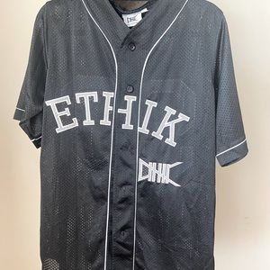 Ethik, Baseball Jersey, Black